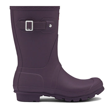 Hunter Original Short - Matte Purple Urchin Calf-High Rain Boot