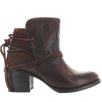 Freebird Casey - Brown Leather Pull-On Bootie
