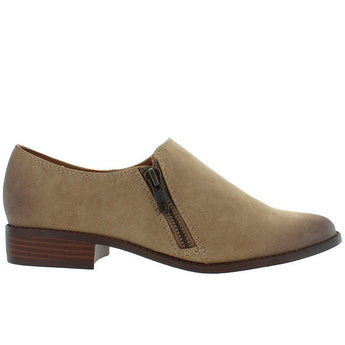 BC Blaze - Taupe Side Zip Slip-On Loafer