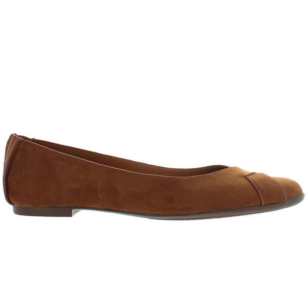BC Petite - Brown Suede Ballet Flat