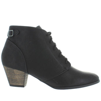 Chelsea Crew Lord - Black Lace-Up Bootie