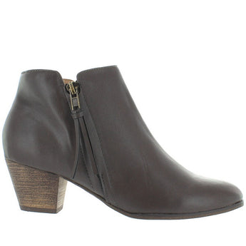 Chelsea Crew Laffy - Grey Side Zip Bootie