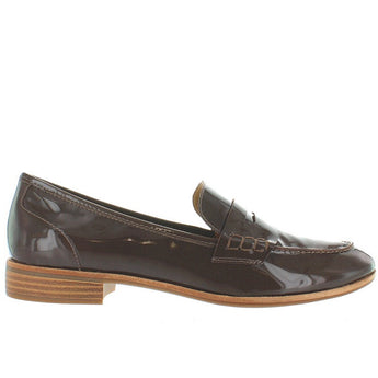 Bass Emelia - Mocha Patent Leather Penny Loafer
