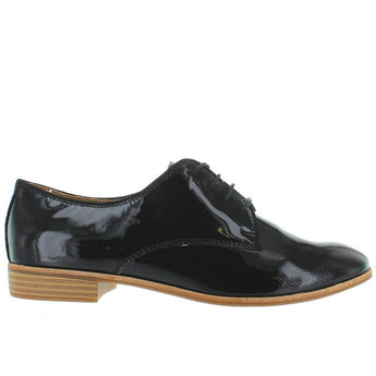 Bass Ella - Black Patent Leather Jazz Oxford