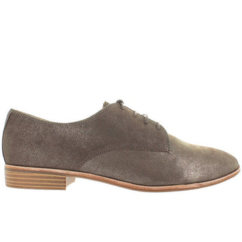 Bass Ella - Mocha Metallic Leather Jazz Oxford