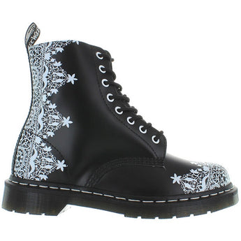 Dr. Martens 1460 - Black Leather Pascal Lace Combat Boot