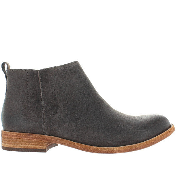 Kork-Ease Velma - Dark Grey Leather Pull-On Bootie
