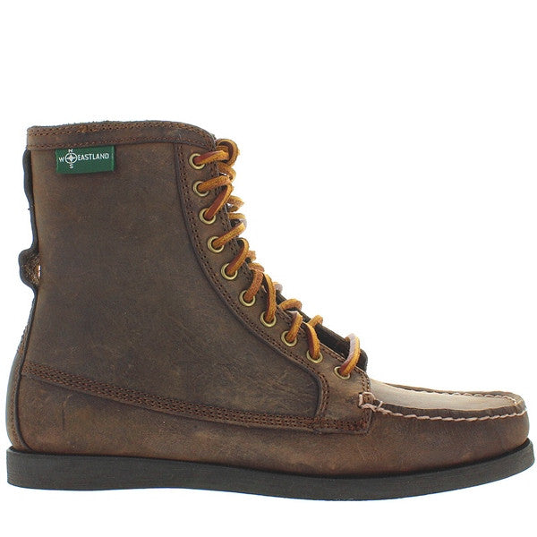 Eastland Up Country 1955 - Tan Leather Rawhide Lace-Up Moc Boot