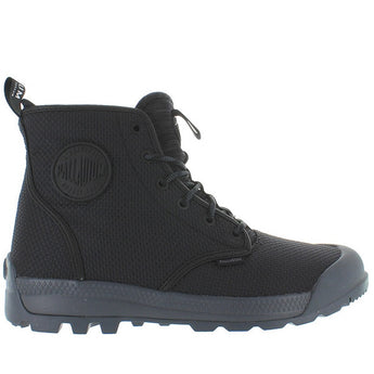 Palladium Pampa Tech High TX - Black/Castlerock Nylon High Top Boot 75189-087