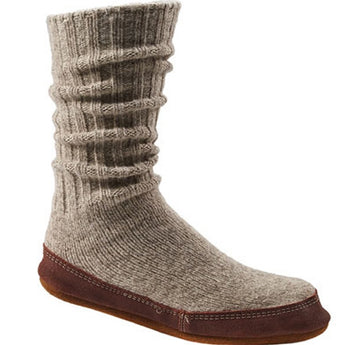 Acorn Original Slipper Sock - Grey Ragwool