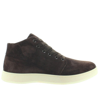Aureus Patron - Brown Suede Athleisure High-Top Sneaker
