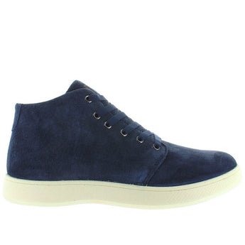 Aureus Patron - Navy Suede Athleisure High-Top Sneaker