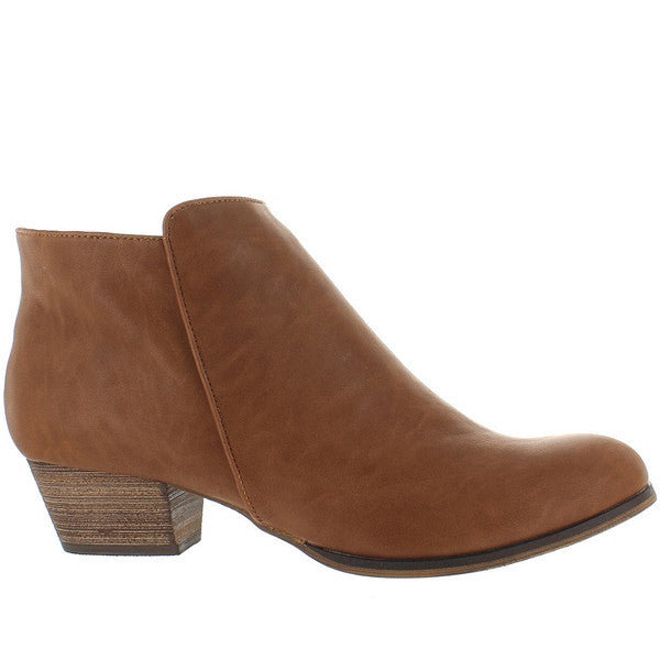 Chelsea Crew Dealer - Tan Bootie