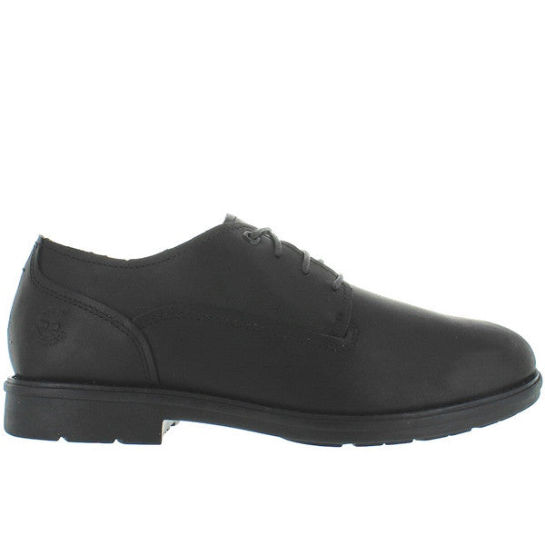 Timberland Earthkeepers Carter Oxford Notch - Waterproof Black Leather Oxford