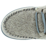 Acorn Slopeside - Birch Suede/Knit Fur-Lined Moc Slipper Bootie