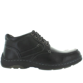 Deer Stags Waverly - Black Leather Lace-Up Moc Boot
