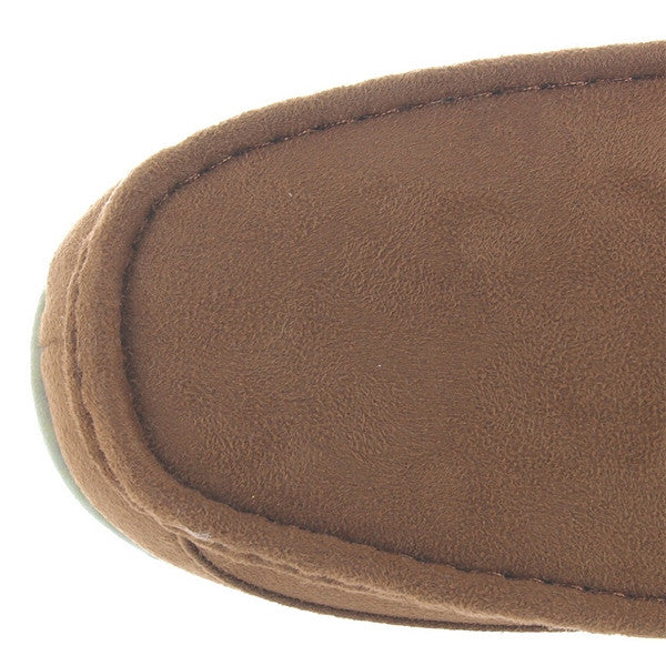 551250ee86b ... Deer Stags Slipperooz Aspen - Chestnut Microsuede Indoor Outdoor Moc  Slipper ...