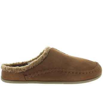 Deer Stags Slipperooz Nordic - Chestnut Microsuede Indoor/Outdoor Moc Slipper
