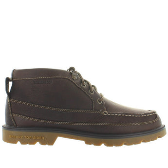 Sperry Top-Sider A/O Lug Chukka II - Waterproof Brown Leather Moc Toe Chukka Boot