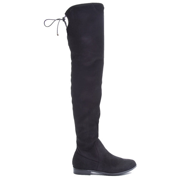 Chinese Laundry Rainey - Black Suede Over-the-knee Boot