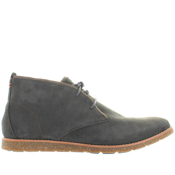 Hush Puppies Roland Jester - Grey Suede Chukka Boot