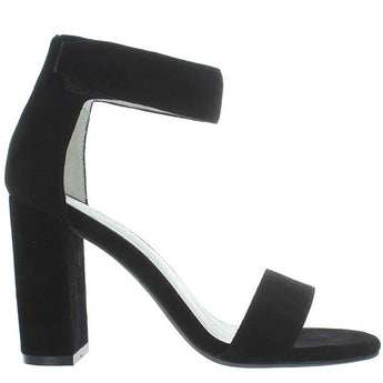 Jeffrey Campbell Lindsay - Black Suede High Heel Sandal