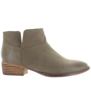 Seychelles Snare - Taupe Leather Fold-Over Bootie