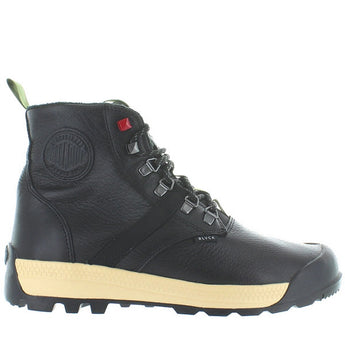 Palladium Pallatech Hi - Waterproof Black Leather High-Top Sneaker 75317-016