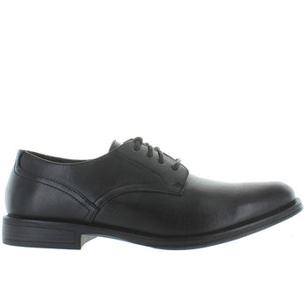 Deer Stags Method - Waterproof Black Leather Smooth Toe Oxford