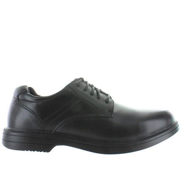 Deer Stags Nutimes - Waterproof Black Leather Smooth Toe Sport Oxford