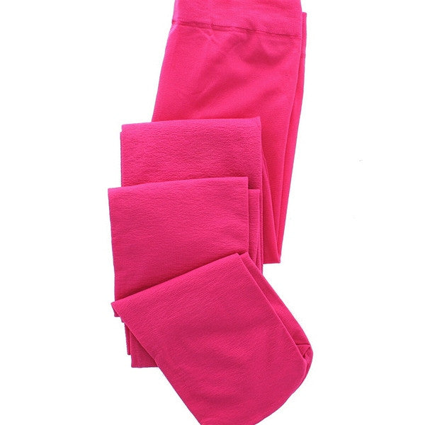 Hue Super Opaque Tights - Raspberry Sorbet Control Top Footed Tights