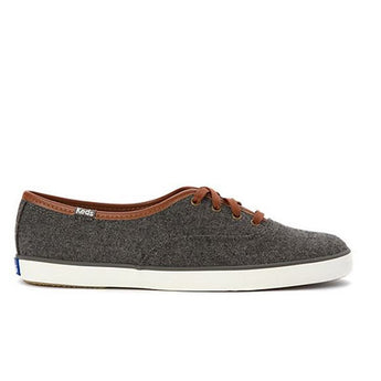 Keds Champion Wool - Charcoal Low-Top Sneaker
