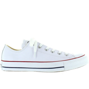 Converse All-Star Chuck Taylor Lo - Optical White Leather Low-Top Sneaker