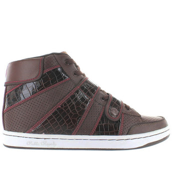Public Royalty Zap Hi - Brown High-Top Sneaker