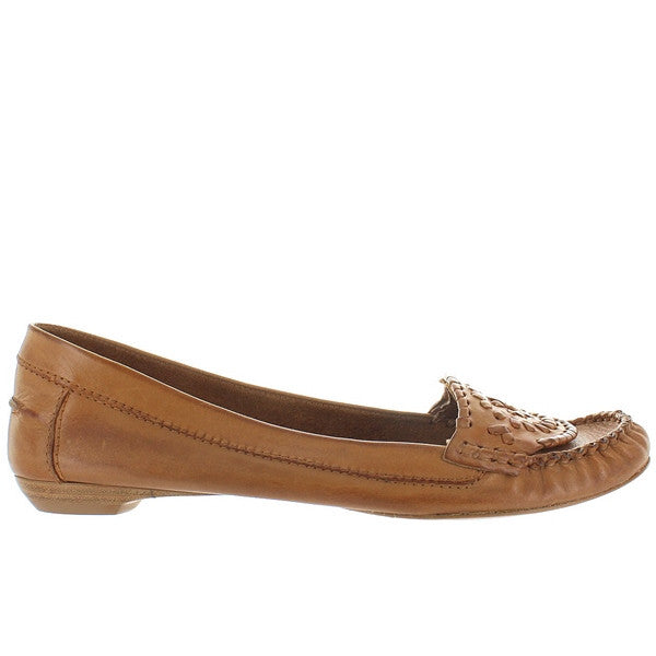 Jack Rogers Jacks - Chestnut Leather Moccasin Loafer