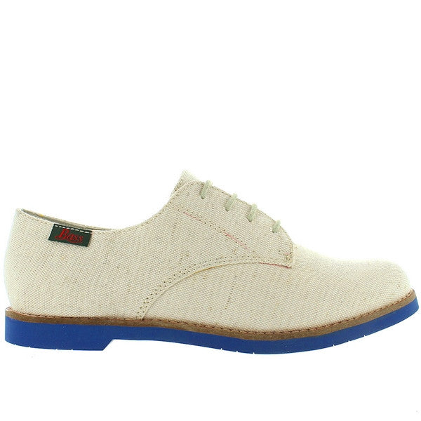 Bass Elly - Natural Canvas Oxford