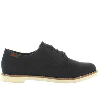 Bass Elly - Black Canvas Oxford