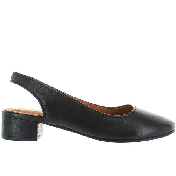 Seychelles Electric - Black Leather Sling-Back Pump