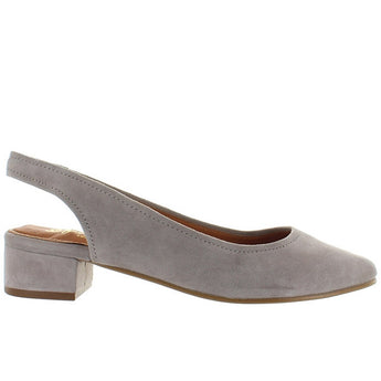Seychelles Electric - Taupe Suede Sling-Back Pump