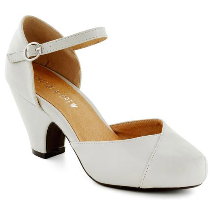 Chelsea Crew Trish - Grey Mary Jane Pump