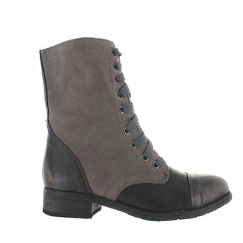 Wanted Forge- Black/Grey Combat Boot