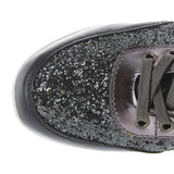 Wanted Hayes - Black Glitter Sneaker
