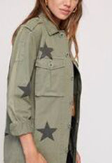 Pistola Camilo - Royal Honor Army Green/Black Stars Military Jacket