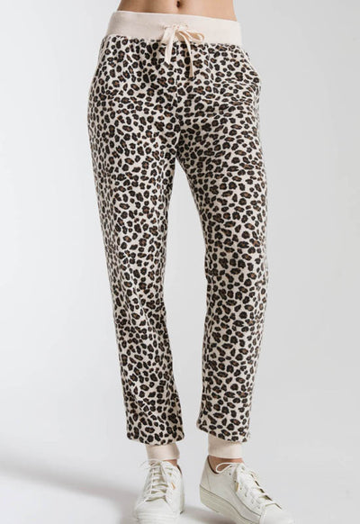 Z Supply - The Leopard Multi Jogger Pants