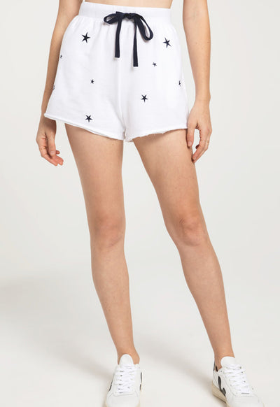 Z Supply - The Mila White Multi Star Shorts