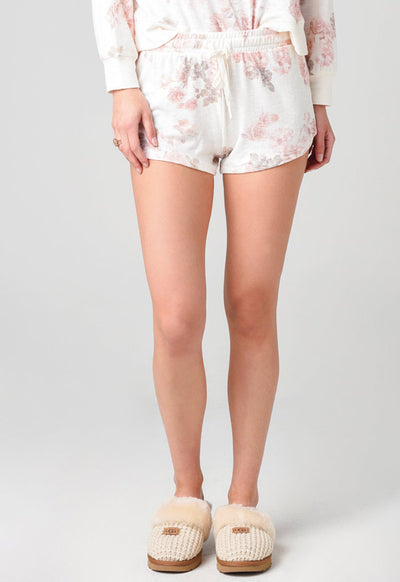 Z Supply - Mia Floral Shorts Bone