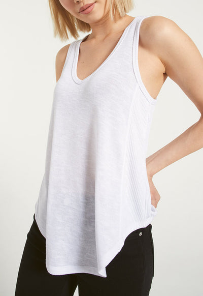 Z Supply - White Jules Hacci Tank Top