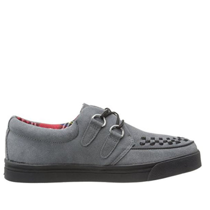 TUK Creeper Sneaker- Grey Suede Low-Top