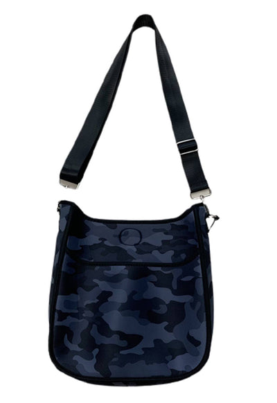 Ahdorned - Black Camo Neoprene Tote