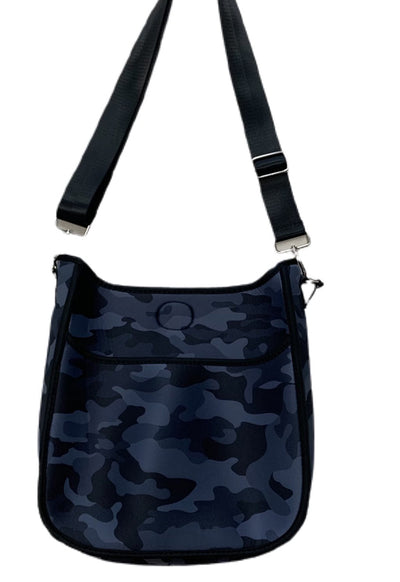 Ahdorned - Black Camo Neoprene Messenger